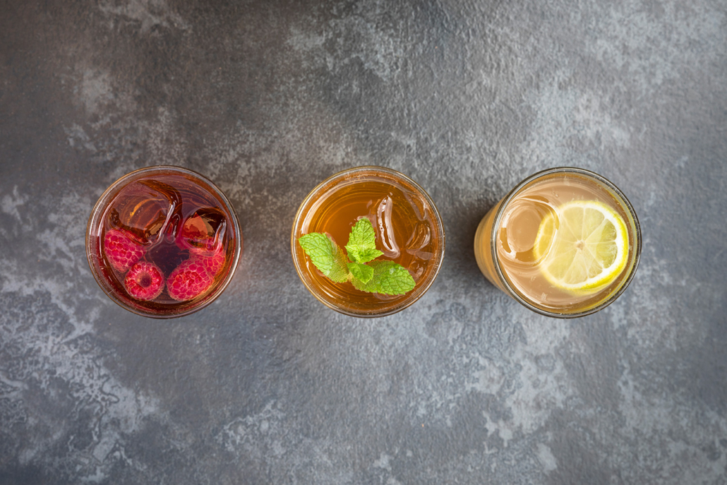 hlé sparkling tea drinks